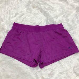 Nike Dri-Fit Shorts Purple Size M